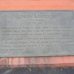 Joseph Robidoux Marker, Memorial Flagpole