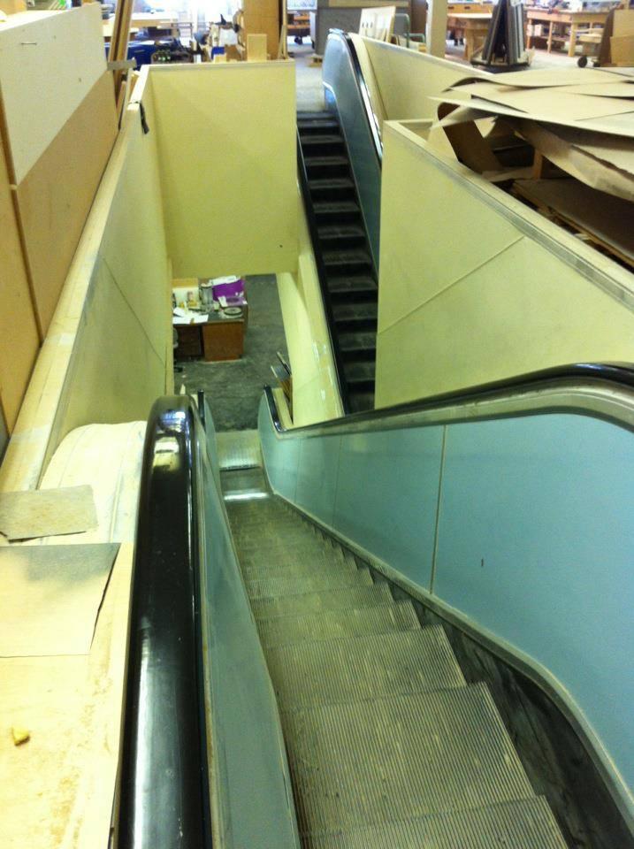 Sears Escalators