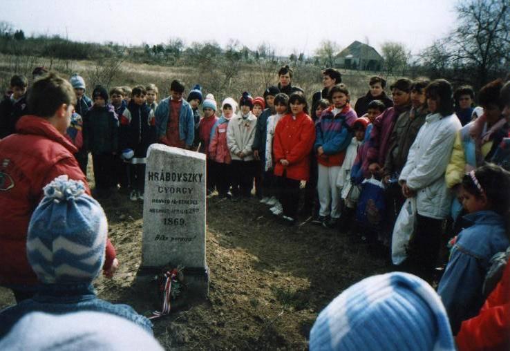 Hrabovszky György sírja