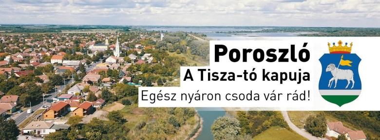 Poroszló A Tisza-tó kapuja
