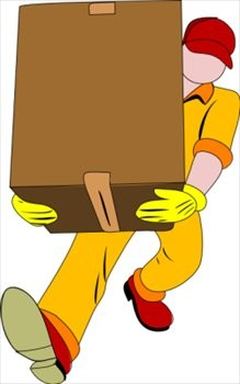 Volunteer to take the boxes!