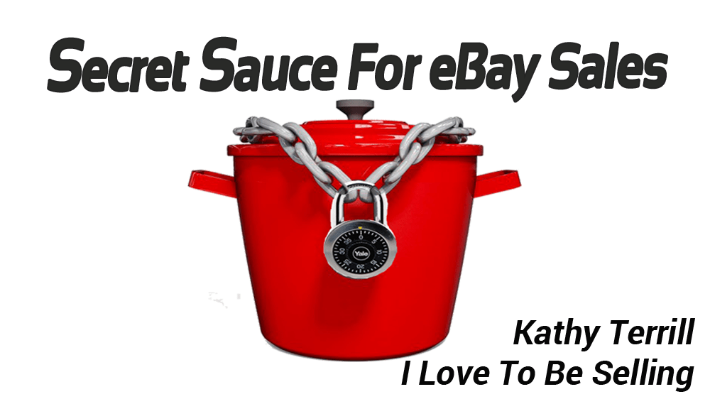 Secret Sauce for eBay Sales