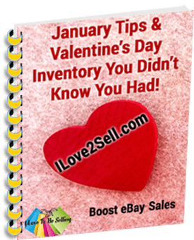 January Tips & Valentine's Inventory