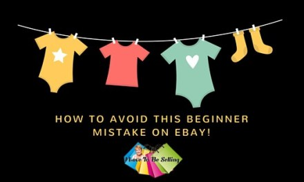 How To Avoid This Beginner Mistake on eBay!