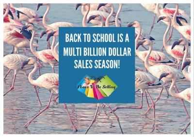 Back To School Is A Multi Billion Dollar Sales Season!