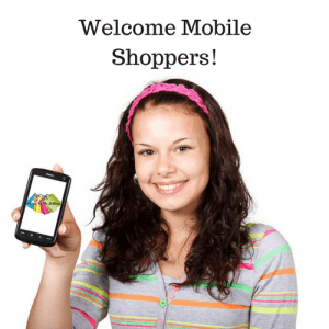 Mobile shopping is easier without active content. #eBay