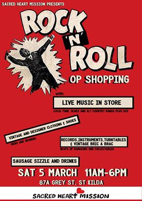 Rock and Roll Op Shopping