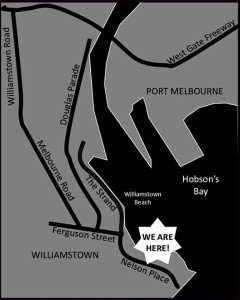 melbourne frock swap map