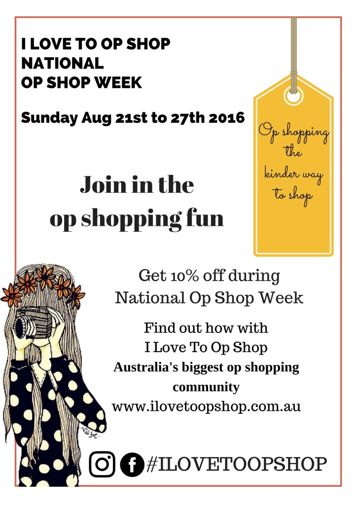 National Op Shop Week