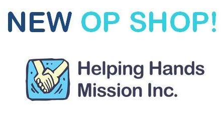 Helping Hands Mission Sunshine Op Shop Opening