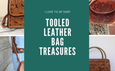 Tooled Leather Bag Treasures