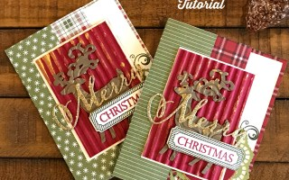 Picture Holder Fancy Fold Christmas Card Video Tutorial