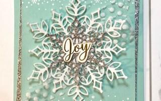 Snow is Glistening Card