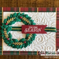 Tidings All Around Layered Wreath