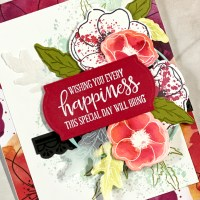 Stamping Sunday Blog Hop Peaceful Poppies Suite