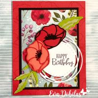 Peaceful Poppies Card