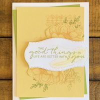Tasteful Touches Bundle Card