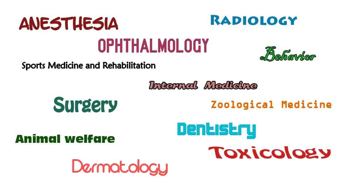 Veterinary Specialties