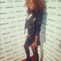 Deja Bryson at Stevie Williams DGK Launch Party, Las Vegas NV