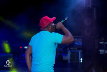 Stevo's Performance At Zambia's Most Wanted X Cassper Nyovest Event.