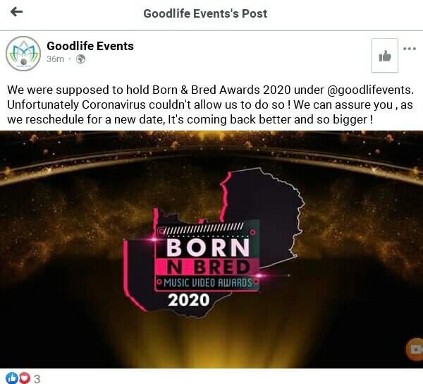 Born & Bred Awards 2020
