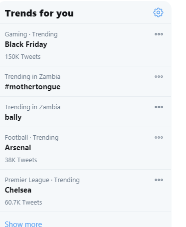Mother Tongue Trends On Twitter