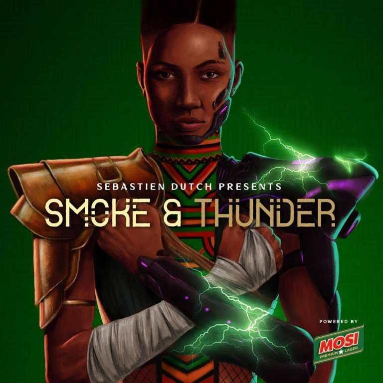 Mosi Premium Lager - Smoke & Thunder