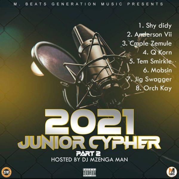 Dj Mzenga Man - 2021 Junior Cypher (ft. Various Artists)