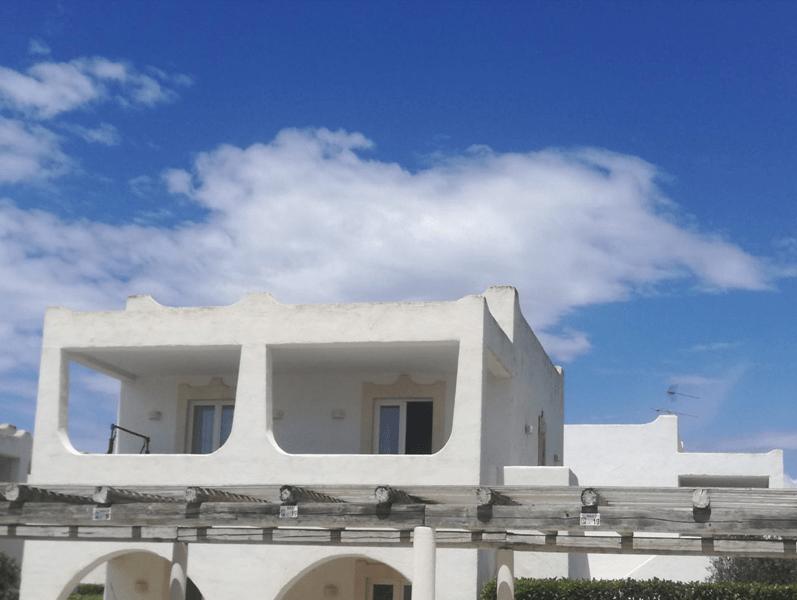facciata trilocale borgo rio favara