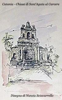 Calamita Chiesa Sant'Agata al Carcere Catania