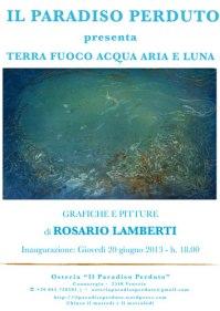 Mostra pitture   Rosario Lamberti