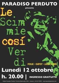 Le scimmie così verdi   Italia
