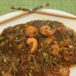 Vermicelli di soia con mazzancolle e jalapeno