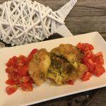 Filetti di merluzzo al pesto di pistacchi