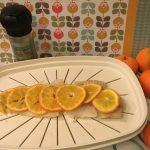 Filetto di pangasio al vapore con mandarini e sale affumicato