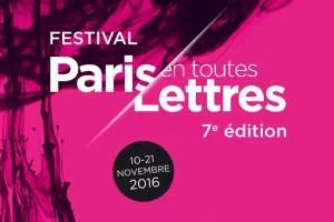 festival delle lettere a Parigi