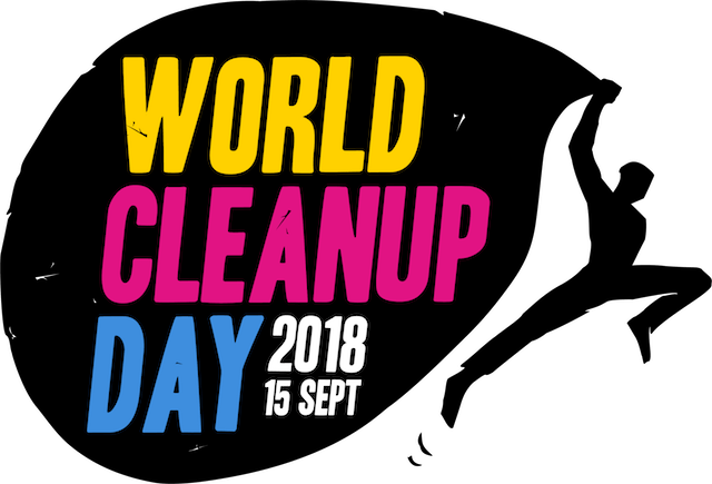Logo World Clean Up 2018