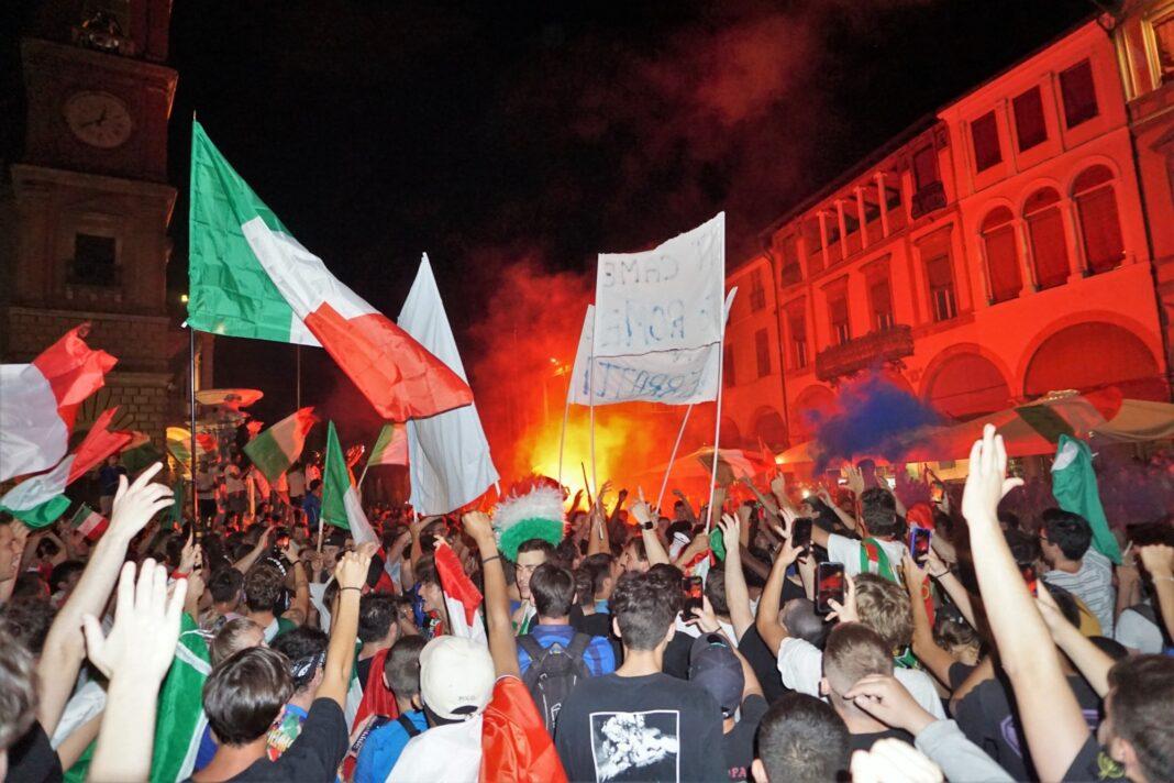 festeggiamenti europei calcio