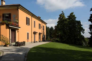 View of the villa