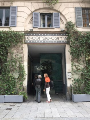 The entrance to 10 Corso Como