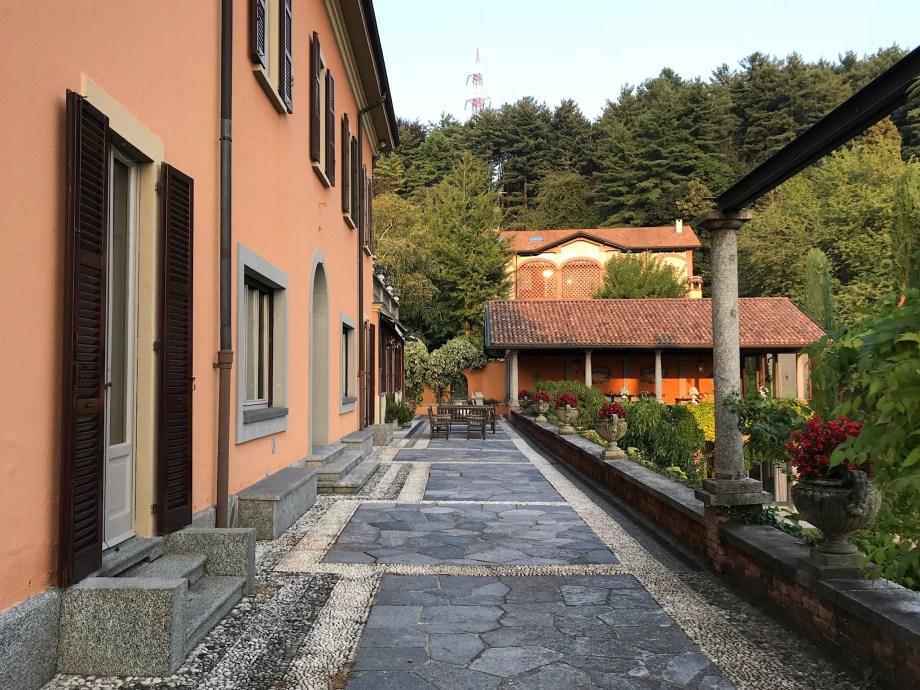 The Villa's terrace
