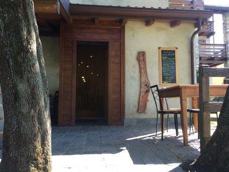 The likely-looking little restaurant - Crotto dal Capraio - at the beginning (or end) of the hike