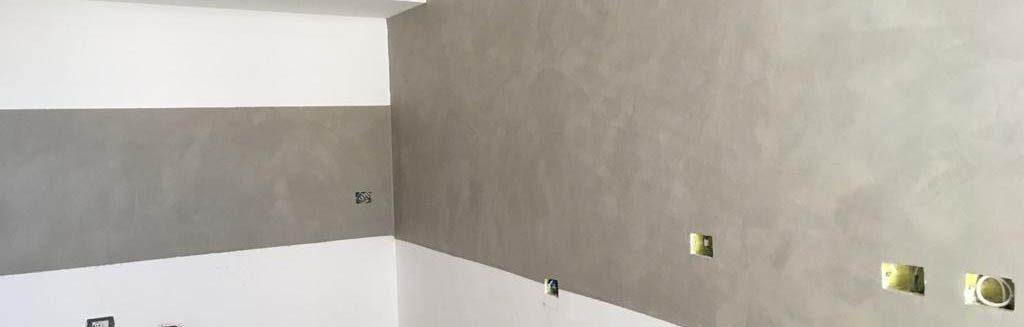 La resina per pareti è la soluzione ideale per rivestire le pareti di bagno, cucina, box doccia o vasca. Cucina Con Pareti In Resina Spatolato Il Posatore