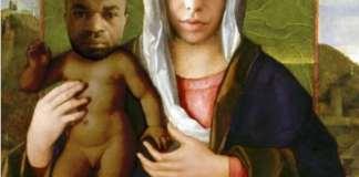 L'opera di Andrea Villa che rappresenta Pamela Mastropietro