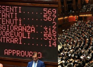 camera dei deputati, votazione