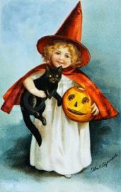 Halloween Postcard by Ellen H. Clapsaddle