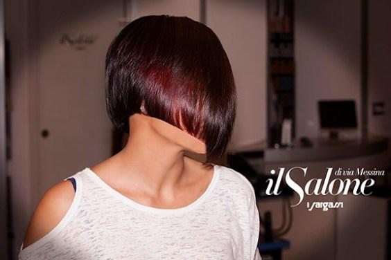 #ilsalonediviamessina #isargassi #capellicorti #hairstylist#rosso rame