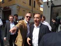 17052015 la russa a Saronno per candidato Ale Fagioli (2)