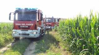 20170712 incendio sterpaglie campo di grano pompieri (6)