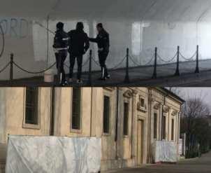 20180211 raid vandalico day after